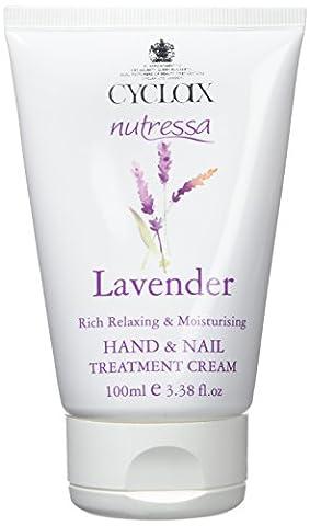 Cyclax Nutressa Lavender Hand and Nail Treatment Cream 100ml