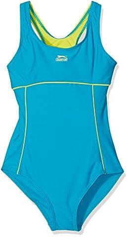 11-12 Jahre Slazenger Mädchen Badeanzug in der Farbe :