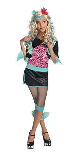 Lagoona Blue Monster High Kostüm für Mädchen 128/140 (8-10 (Kostüme Lagoona)
