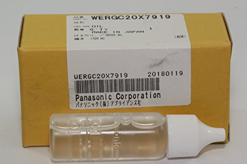 Panasonic WERGC20X7919 Genuine Hair Clipper/Trimmer Lubricating Oil, 15ml