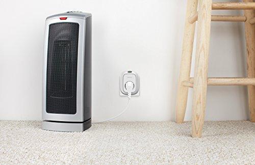 Wemo Insight Switch, Wi-Fi Smart Plug, intelligente Steckdose zum Ein- und Ausschalten Ihrer Lampen und Geräte über Ihr Smartphone, funktioniert mit Amazon Echo und Alexa -