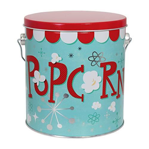 Premium Popcorn- oder Kekseimer - Dose - Metall - extra groß - Jumbo 0,3 Liter -