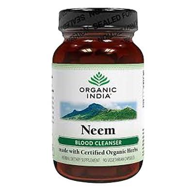 Organic Neem Capsules Vegetarian 60 by Organic India