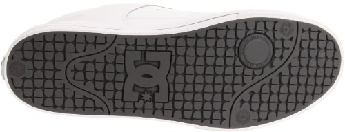 DC Shoes Pure Mens Shoe D0300660, Baskets mode homme Blanc - White - Battleship