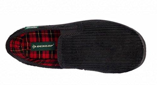 Dunlop, Pantofole uomo Nero (nero)