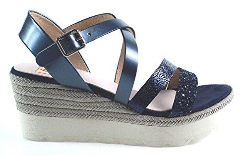 Kanna Shoes | Keilsandalette | blau Blau