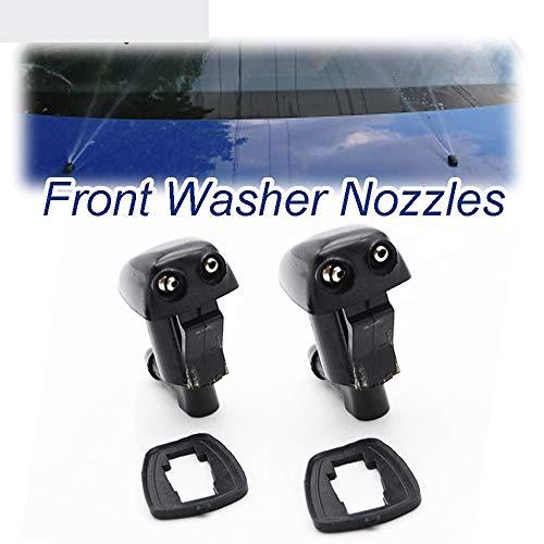 OIOBOMBG Für Toyota Prius XW20 2003-2009, Scheibenwischer 2 Teile/los Frontscheibenwischer Washer Jet Nozzle