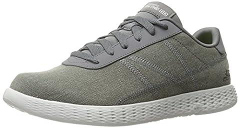 Skechers On-the-Go Glide-Eaze, Sneakers Basses Homme, Gris (Char), 43.5 EU