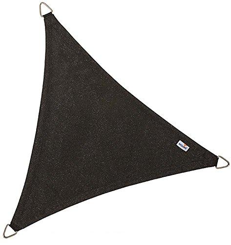 Voile d'ombrage triangulaire Coolfit noir