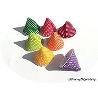 PARE PIPI LAVABLES de FairyDesFolies x7 unités coffret naissance liste maternité cadeau puericulture éco-reponsable tipi pipi cones à pipi teepee peepee