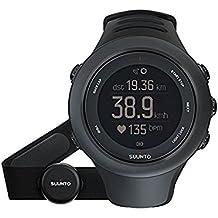 Suunto, AMBIT 3 SPORT - Monitor de actividad, Distancia, brújula y GPS, negro