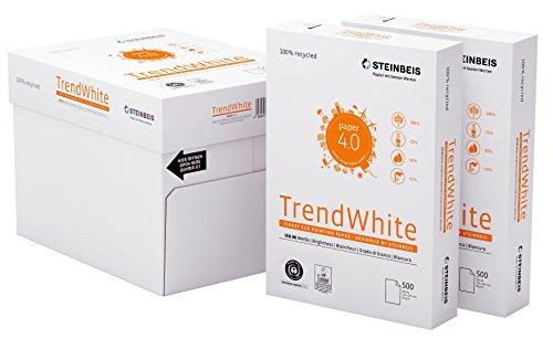 Steinbeis TrendWhite DIN A4-5 x 500 Blatt - weiß - Multifunktionspapier - 80 g/m²