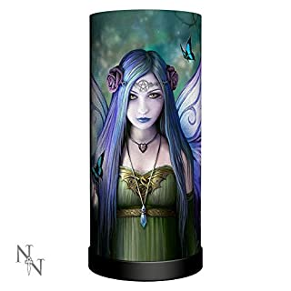 Weird Or Wonderful Lamp Mystic Aura 27.5cm by Anne Stokes - Nemesis Now Light Bedroom Bedside Desk Table UK Plug Nemesis Now Gothic Fantasy Magic Magical Mystical Spiritual Fairy Gift