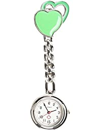 ShopyStore As Shown 2016 New Fasion Sweet Heart Chest Pocket Watch Nurse Table Quartz Alloy With C - B07FFV4FTN