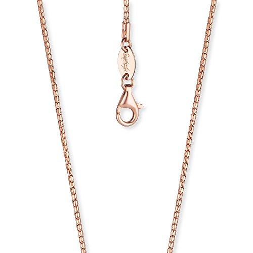 Engelsrufer Damen Koreanerkette 925er-Sterlingsilber rosévergoldet Länge 60 cm