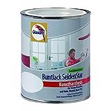 Glasurit Buntlack SeidenStar Kunstharzbasis innen und außen Weißlack 1 Liter