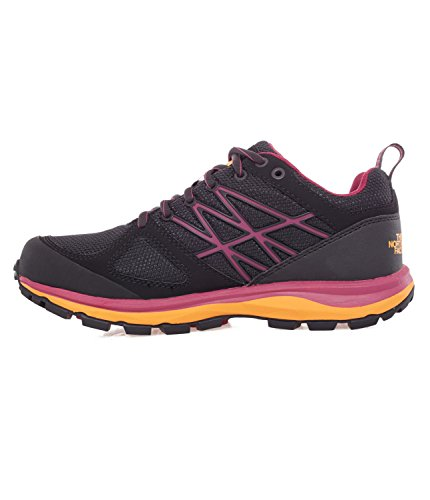 The North Face W Litewave Gtx, Sneakers trail-running femme Noir / Violet