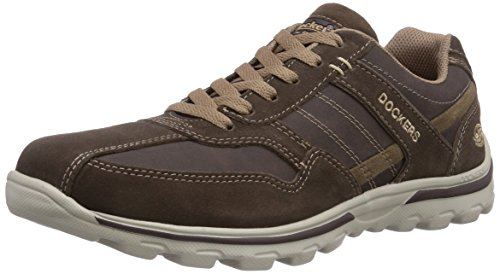 Dockers by Gerli 36DG003-204333 Herren Sneakers Braun (cafe/stone 333)