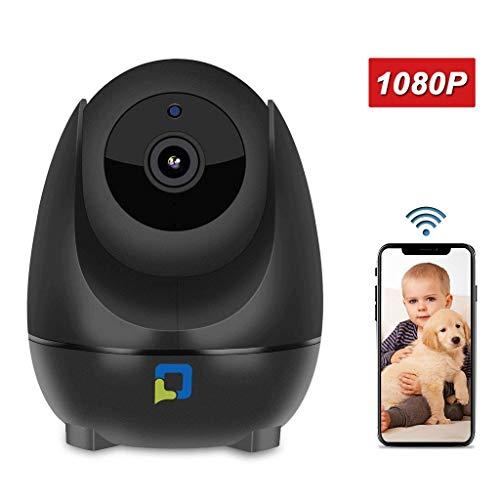 OPTJOY Überwachungskamera, 1080P WiFi IP Kamera, Pan/Tilt/Zoom Home Indoor Überwachungskamera Auto Night Vision, Motion Tracker, Zwei-Wege-Audio, Für iOS/Android APP, Free Cloud Service (EU) Tilt Indoor Kamera