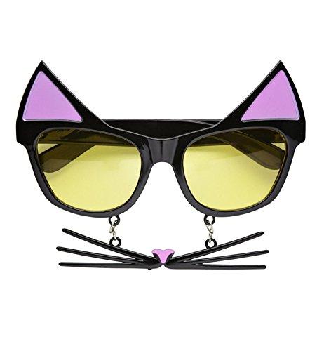 Video Delta Brille Katze mit (Katze Brillen)