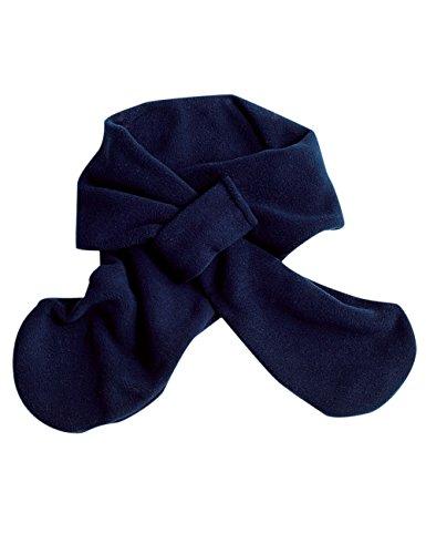 maximo Unisex Baby Schal Steckschal, Blau (Dunkelmarine 11), 1 (Herstellergröße: 1)