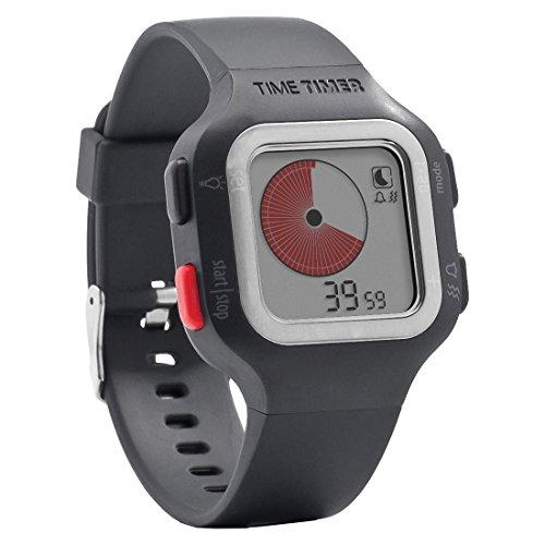 Time Timer Armbanduhr Erwachsene Dunkelgrau/Anthrazit