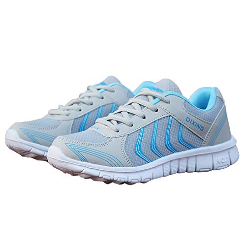 ❤️ Hombres Zapatillas de Running, Moda Mujer Sports Transpirable Mesh Ligero Wearable Flat Absolute