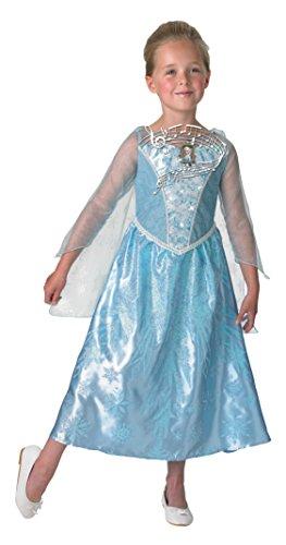 Rubie's 3610363 - Elsa Frozen Musical - Light up Dress - Child, Verkleiden und Kostüme, M (Kids Kostüm Für Frozen Elsa)