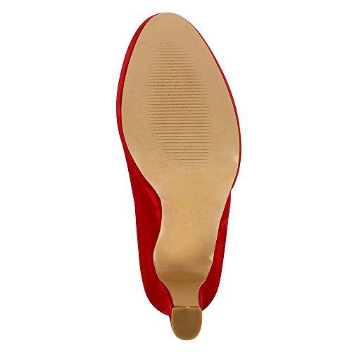 Evita Shoes  Riccarda, Escarpins pour femme Rouge