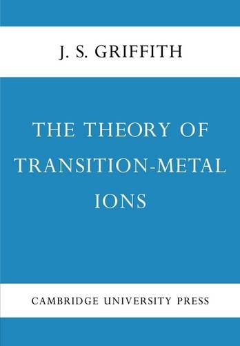 The Theory of Transition-Metal Ions