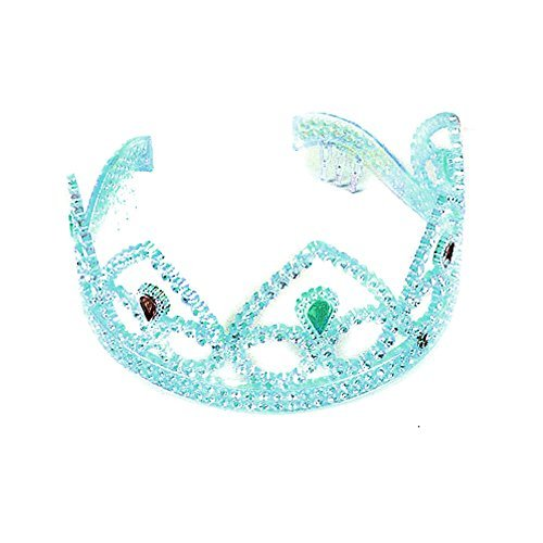 Pearlized Acrylic Princess Tiara Select Colour: blue - Rhode Island Costume