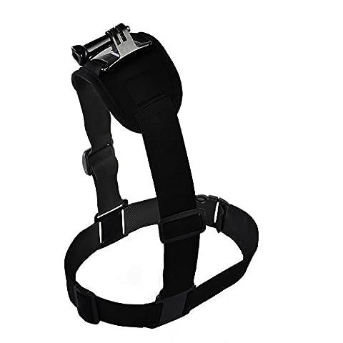BPS Bandoulière simple d'épaule, harnais pour caméra de sport et action Gopro Hero 5/4/3+/3/2/1