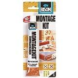 1x 6305367Bison Kit montage Super Résistant Gap remplissage universel Construction Barre d'appui Colle 125g