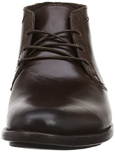 Fly London Peet, Chaussures de ville homme Marron (Dark Brown/Expresso 005)