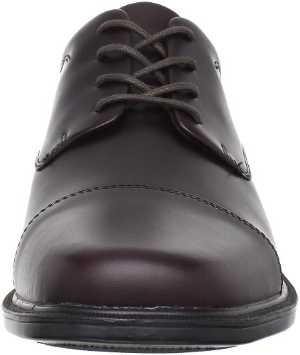 Rockport Office Essentials/Ellingwood Black Herren Derby Schnürhalbschuhe Rot (ELLINGWOOD OXBLOOD)