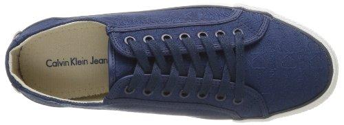Scarpe Blu Jacquard Uomo Calvin blu Da Jeans Logo Klein Orian Tennis wa8X41qSXc