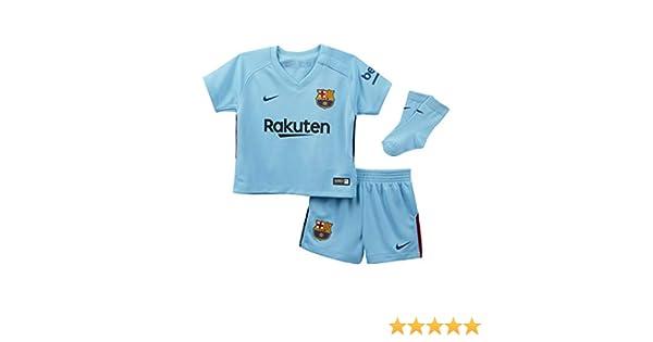 2017 2018 Barcelona Away Nike Baby Kit