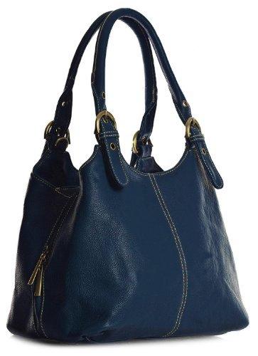 big-handbag-shop-womens-medium-size-plain-multi-pocket-shoulder-bag-with-a-long-strap-33622-medium-n