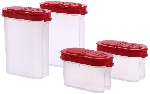 Tupperware Modular Spice Shakers Set, Set of 4  128