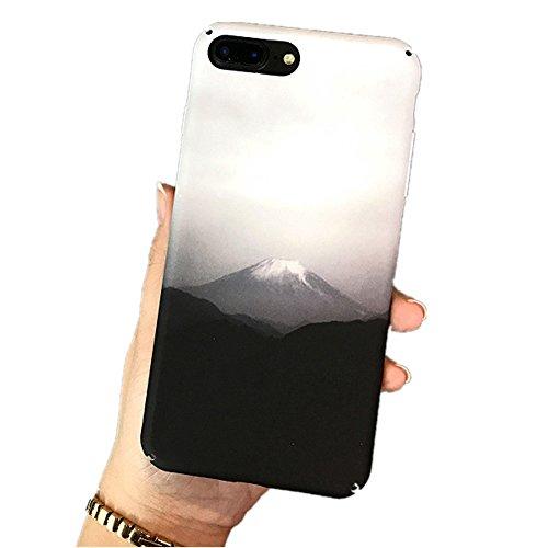 Preisvergleich Produktbild Handyhülle iphone , Dewanxin Einfach Retro Design Farbe Ink Painting-Muster Stilvoll Luxus Gradient Farbe Ultradünne Matte Kruste / wasserdichte handytasche / wasserdichte hülle / handyhülle i phone6s / handyhülle iphone 6 / handyhülle iphone 7 / handyhülle iphone 8 / handyhülle iphone 8 plus (6 / 6s,  Gradient Farbe)