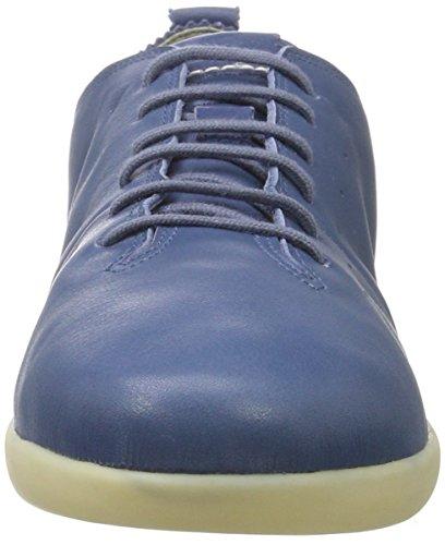 Geox D Nouveau Do A, Baskets Basses Athlétiques Bleu (denimc4008)