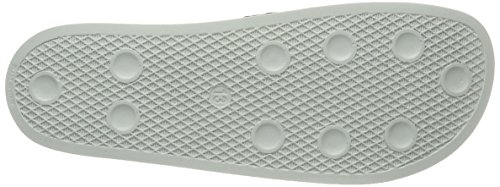 adidas Adilette, Chaussures de Plage et Piscine Homme, Vert Beige (Tech Beige/Tech Beige/Linen Green)