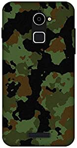 The Racoon Grip Military camouflage hard plastic printed back case / cover for Coolpad Note 3 Lite