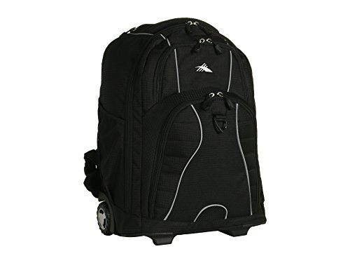 High Sierra Freewheel Rolling Backpack (Black) by High Sierra - High Sierra Wheeled Backpack