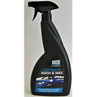 Auto Extreme Waterless Wash and Wax - High Performance - Free Microfibre Cloths and Nitrile Gloves Included