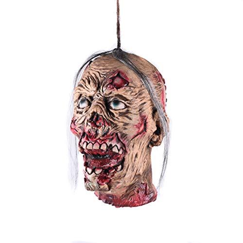 Honey fruit DIY Halloween-Dekorationen im Freien, Halloween-Katergeisterraum-Dekorationslatex gebrochener Kopf/Übelkeit beängstigend beängstigend