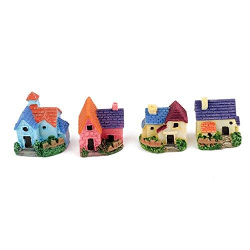 Generic Toys Dollhouse Bonsai Craft Garden Resin Landscape DIY Villa...