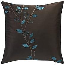 lumimi país bordado poliéster decorativo funda de almohada