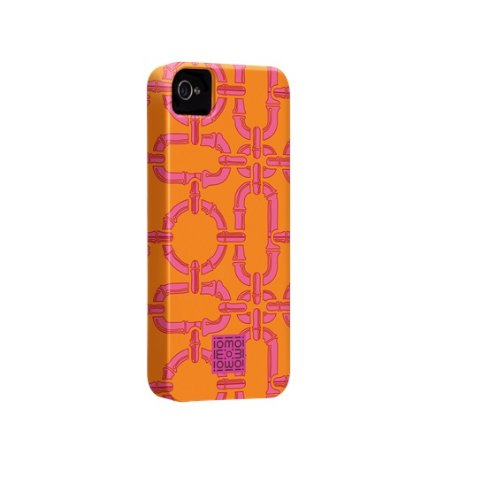 Case-mate iomoi Tough Designer Cases for Apple iPhone 4/4s - LV the Monkey Bamboo