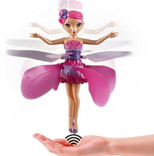 Preisvergleich Produktbild Komisch Flugspielzeug,Amcool Fliegend Fee Puppe Hand Infrarot Induktion Steuerpuppen Kind Fliege Spielzeug Geschenk